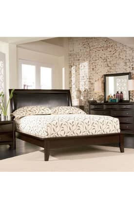 Coaster Company Beds Phoenix Contemporary Queen Platform Bed Furniture