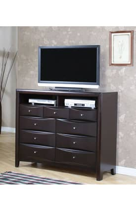 Coaster Company TV Stands Phoenix Contemporary Entertainment Chest Furniture