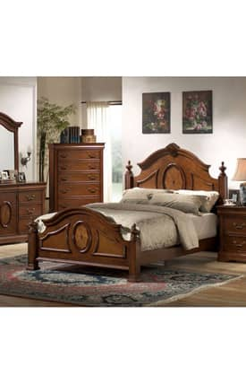 Coaster Company Beds Richardson King Carved Bed Furniture