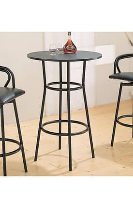 Coaster Company Dining Tables Dixie Round Bar Table Furniture