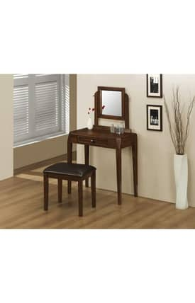Coaster Company Vanity Sets Contemporary Vanity And Stool Set Furniture