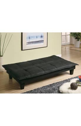 Coaster Company Sofa Beds Contemporary Padded Convertible Sofa Bed Furniture