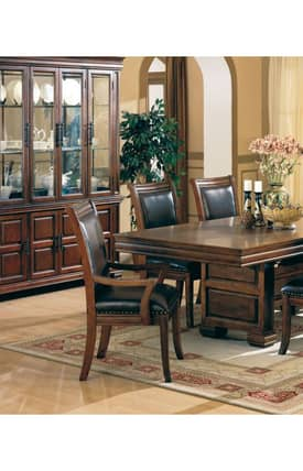 Coaster Company Chairs Westminster Upholstered Dining Arm Chair (Set Of 2) Furniture