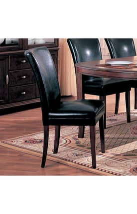Coaster Company Chairs Soho Contemporary Parson Side Chair (Set Of 2) Furniture