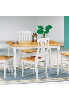 Coaster Company Tables Damen Traditional Dining Table Furniture
