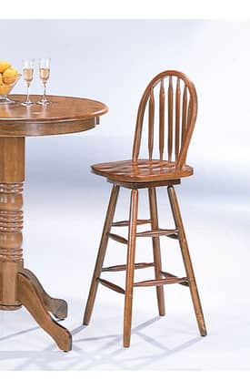 Coaster Company Stools Traditional Woodlawn Arrow Back Bar Stool Furniture