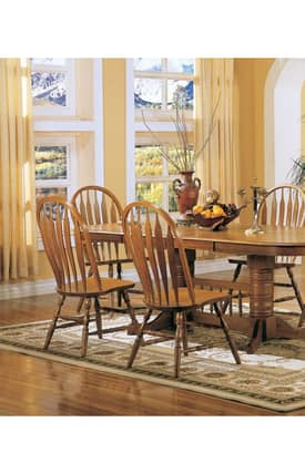 Coaster Company Chairs Mackinaw Windsor Dining Side Chair (Set Of 2) Furniture