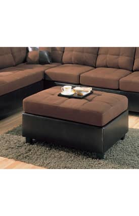 Coaster Company Ottomans Harlow Contemporary Ottoman Furniture
