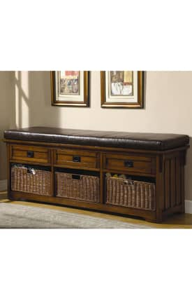 Coaster Company Benches Large Storage Bench Furniture