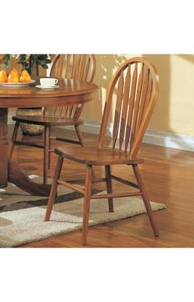 Coaster Company Dining Chairs Mackinaw Windsor Dining Side Chair (Set Of 2) Furniture