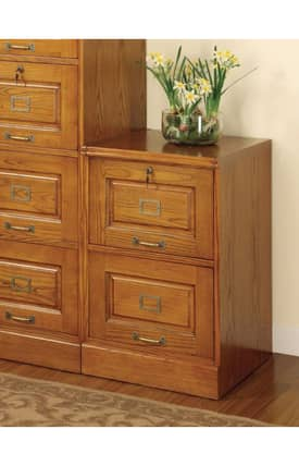 Coaster Company Cabinets Palmetto Traditional File Cabinet With Two Drawers Furniture