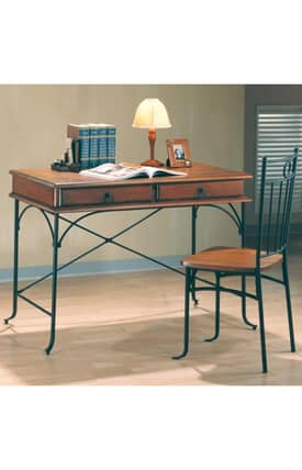 Coaster Company Desks Casual Table Desk And Chair Furniture