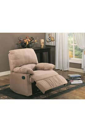 Coaster Company Recliners Contemporary Upholstered Recliner Furniture
