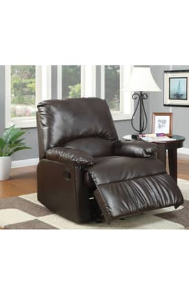 Coaster Company Recliners Contemporary Upholstered Glider Recliner Furniture