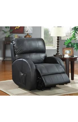Coaster Company Recliners Contemporary Power Lift Recliner Furniture
