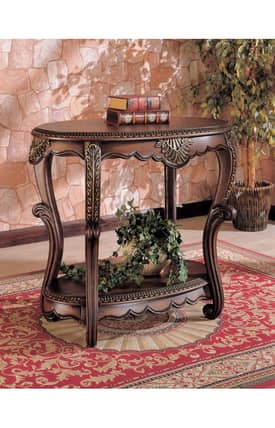 Coaster Company Tables Traditional Accent Table With Shelf Furniture