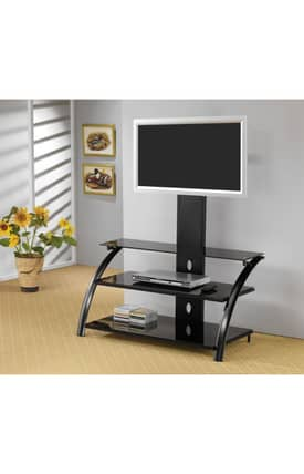Coaster Company TV Stands Contemporary TV Stand With Bracket Furniture