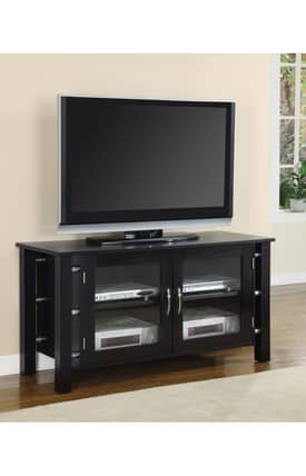 Coaster Company TV Stands Contemporary Media Console With Doors Furniture