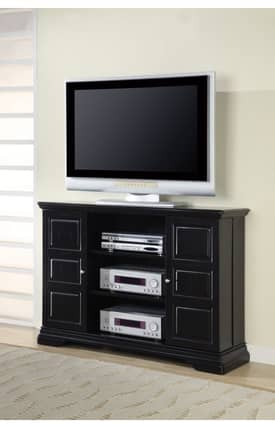 Coaster Company TV Stands Classic Media Console With Doors And Shelves Furniture