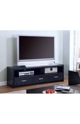 Coaster Company TV Stands Contemporary TV Stand With Shelves And Drawer Furniture