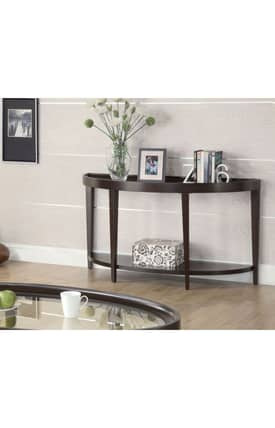 Coaster Company Tables Contemporary Console Table With Shelf Furniture