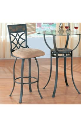 Coaster Company Bar Stools Metal Bar Stool With Upholstered Seat (Set Of 2) Furniture