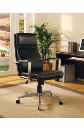 Coaster Company Chairs Contemporary Adjustable Height Executive Office Chair Furniture