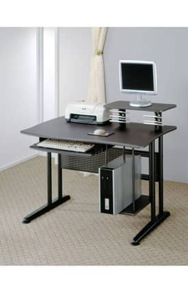 Coaster Company Desks Contemporary Computer Desk Wit Keyboard Tray Furniture