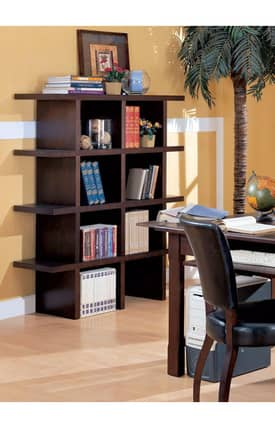 Coaster Company Bookcases Laval Contemporary Open Stackable Bookcase (Sets of 2) Furniture