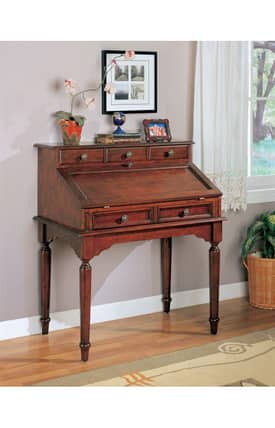 Coaster Company Desks Traditional Secretary Writing Desk Furniture