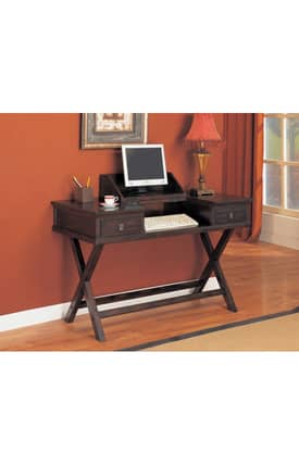 Coaster Company Desks Dickson Contemporary Writing Desk With Hinged Top Furniture
