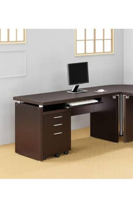 Coaster Company Desks Contemporary Writing Desk Furniture