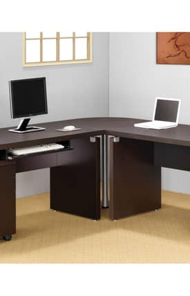 Coaster Company Desks Contemporary Writing Corner Desk Furniture
