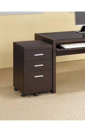 Coaster Company Cabinets Papineau Contemporary File Cabinet Furniture