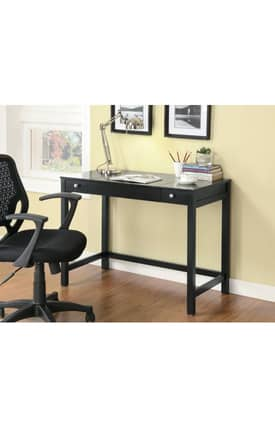 Coaster Company Desks Contemporary Writing Desk With Drawers Furniture