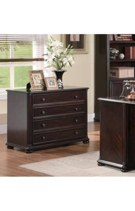 Coaster Company Cabinets Scotland Lateral Traditional File Cabinet Furniture