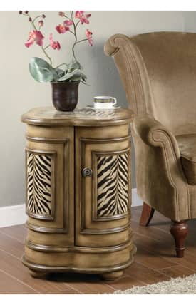 Coaster Company Tables Animal Prints Accent Cabinet End Table Furniture