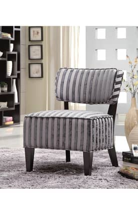 Coaster Company Chairs Contemporary Accent Chair With Wood Legs Furniture