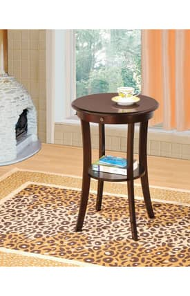Coaster Company Tables Traditional End Table With Drawer And Shelf Furniture