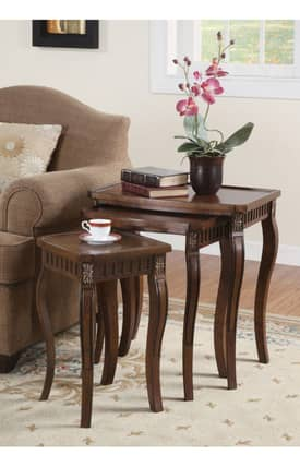 Coaster Company Tables 3 Piece Nesting Table Furniture