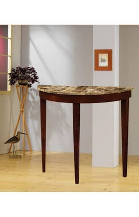 Coaster Company Tables Faux Marble Top Console Table Furniture