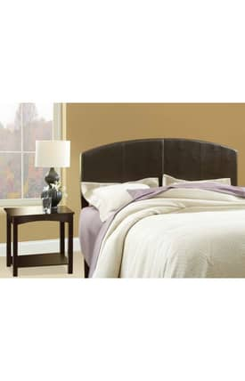 Hillsdale Furniture Beds Galleon Folding Full Queen Headboard with Rails and Nightstand Furniture