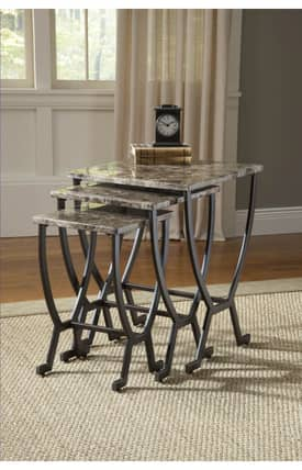 Hillsdale Furniture Tables Monaco Nesting Tables Furniture