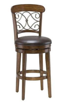Hillsdale Furniture Bar Stools Bergamo Swivel Counter Stool Furniture