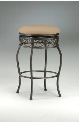 Hillsdale Furniture Bar Stools Lincoln Backless Swivel Bar Stool Furniture
