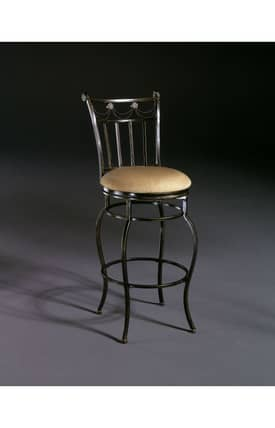 Hillsdale Furniture Bar Stools Camelot II Swivel Counter Stool Furniture