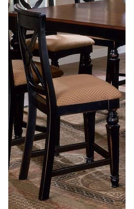 Hillsdale Furniture Bar Stools Northern Heights Non-Swivel Counter Stools (Set of 2) Furniture