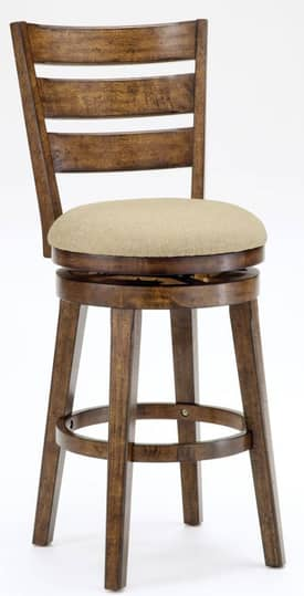 Hillsdale Furniture Stools Lenox Swivel Bar Height Stool Furniture