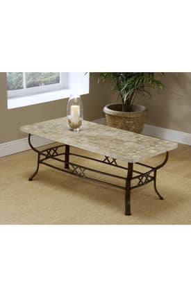Hillsdale Furniture Tables Brookside Fossil Coffee Table Furniture