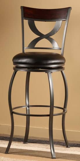 Hillsdale Furniture Stools Stockport Swivel Counter Height Stool Furniture